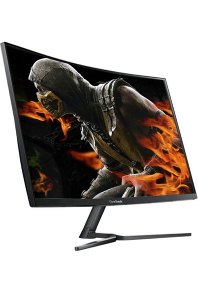 "ViewSonic VX2758-C-MH 27"" 144Hz 5ms (HDMI+Analog) FreeSync Full HD Curved VA Monitör"