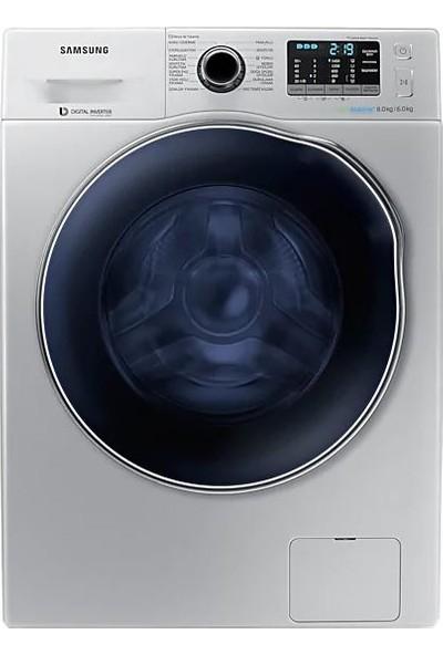 Samsung WD80J5B10AS/AH 8kg/6kg 1400 Devir Kurutmalı Çamaşır Makinesi