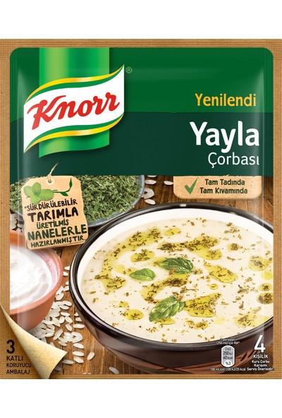 Knorr Klasik Çorba Serisi Yayla Çorbası 72 gram 12'li Paket