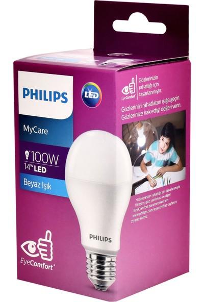 Philips LEDBulb 14-100W E27 6500K Beyaz Işık Led Ampul