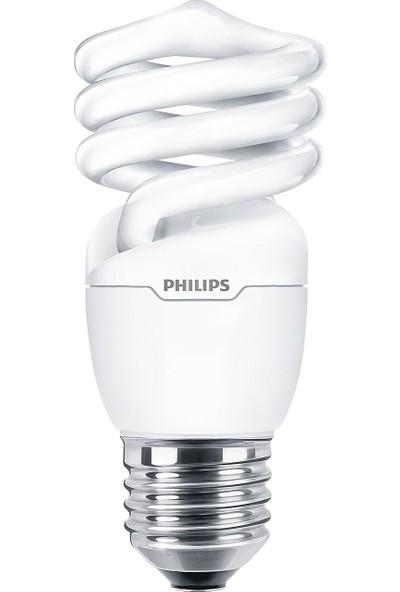 Philips Economy Twister 20W Sarı Işık E27