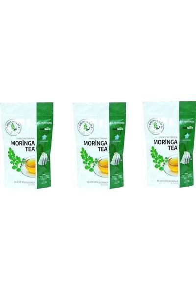 Black Natural Moringalı Çay (Moringa Çayı) 60 Süzen Poşet 3' lü