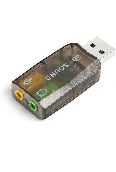TX 7.1 Stereo Ses Efektli Usb Ses Kartı (Windows ve MAC Destekli) (TXACUSC73)