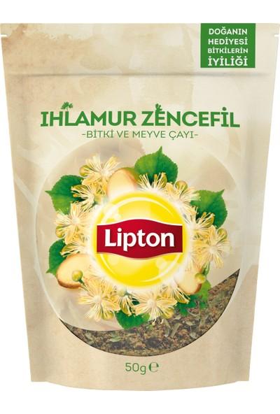 Lipton Dökme Bitki Çayı Ihlamur Zencefil 50 gram