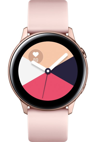 Samsung Galaxy Watch Active (Pembe Altın)-SM-R500NZDATUR