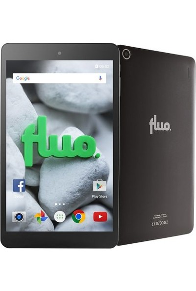 Fluo Play 8GB 8'' Tablet Siyah