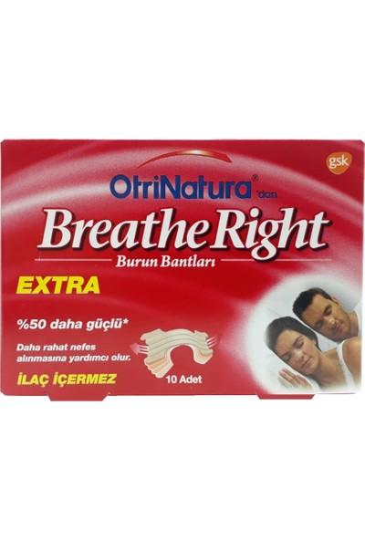 Breathe Right Burun Bandı Extra 10'lu
