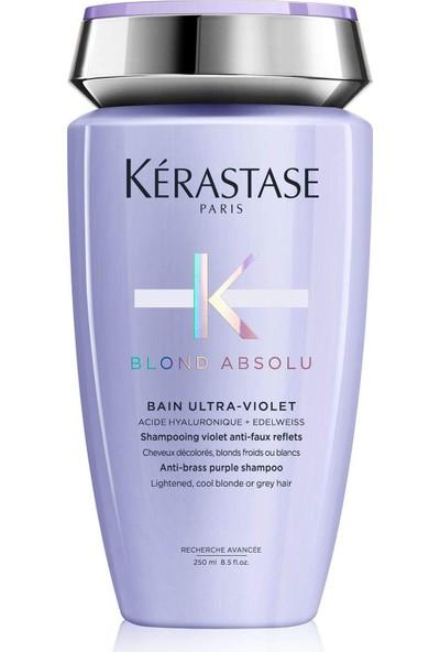 Kerastase Blond Absolu Bain Ultra - Violet - Sarı ve Gri Saçlar İçin Silver Mor Şampuan 250Ml