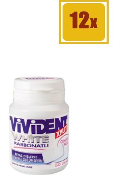 Vivident White Karbonatlı 70 gr 12'li Set