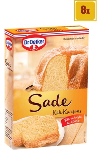 Dr. Oetker Sade Kek Karışımı 450 gr 8'li Set