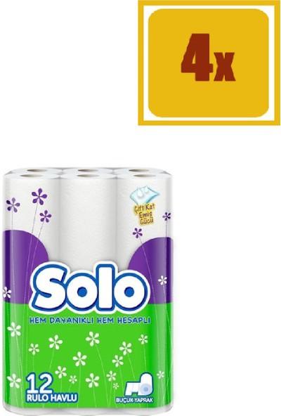 Solo Kağıt Havlu 12' li (x4)