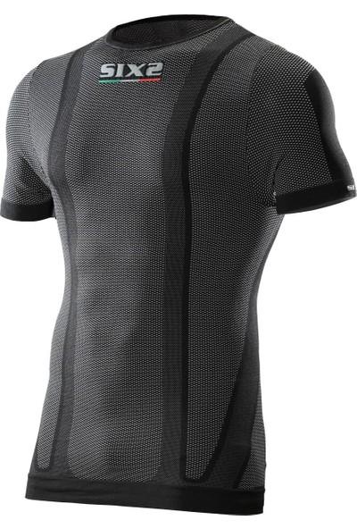 Six2 Artı 36° Ultra İnce Carbon Kısa Kollu Tişört