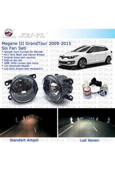 Renault Megane SW Grandtour 2008-2015 Beyaz Led Xenon Sis Farı Seti