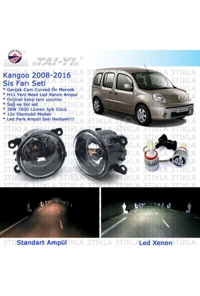 Renault Kangoo 2008-2015 Beyaz Led Xenon Sis Farı Seti