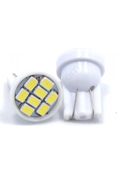 Citroen C-Elysse Beyaz Led Xenon Sis Farı Seti