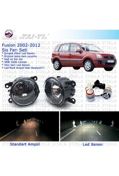 Ford Fusion 2002-2012 Beyaz Led Xenon Sis Farı Seti
