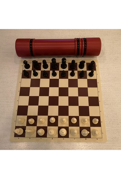 Yeni Satranç Plastik Kutulu Satranç Takımı (Şah Boyu:85Mm)