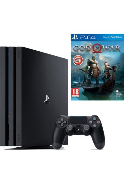 Sony Playstation 4 Pro 1 Tb Oyun Konsol (Cuh-7216B) + Ps4 God Of War