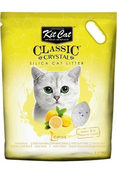 Kit Cat Limon Kokulu Silika Kedi Kumu 5lt