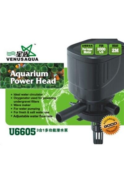 Venusaqua U 6605 Kafa Motoru