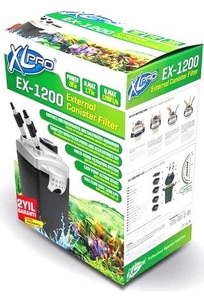 XL Pro Ex 1200 Dış Filtre 1200 LTS 28W Dolu