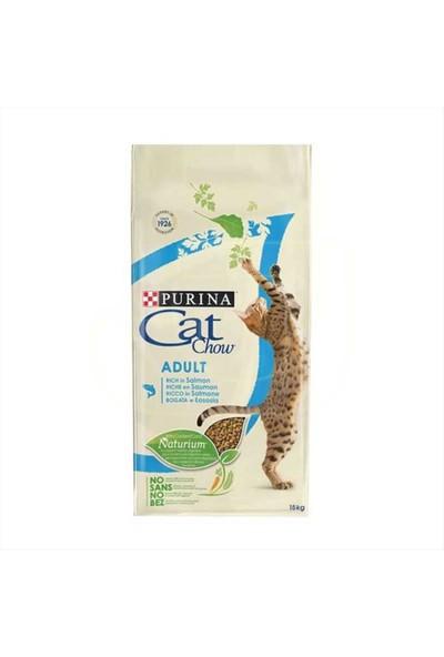 Purina Cat Chow Somonlu Ton Balıklı Yetişkin Kedi Maması 15 Kg