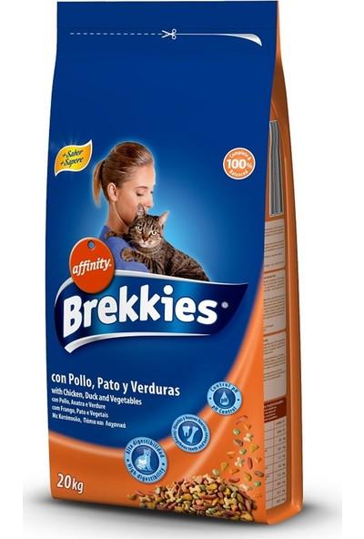 Brekkies Cat Mix Tavuk Ördek Sebze Yetişkin Kedi Maması 20 kg