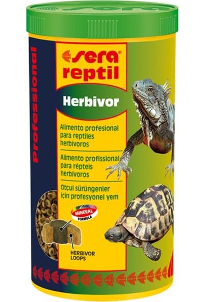 Sera Reptil Herbivor 1000 ml Profesyonel Sürüngen Yemi Otçul