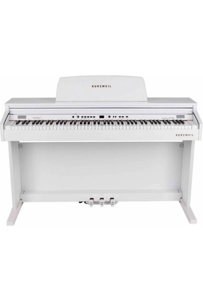 Kurzweil Ka130-Wh Mat Beyaz Dijital Piyano