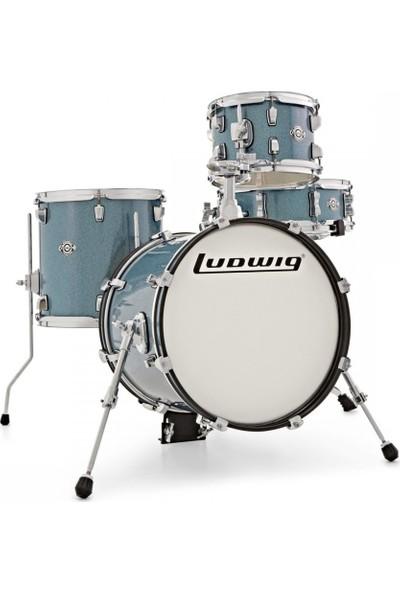 Ludwig Breakbeats By Questlove Azure Sparkle - Akustik Davul Seti Lc179X023