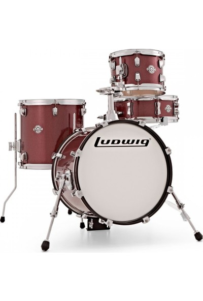 Ludwig Breakbeats By Questlove Red Sparkle - Akustik Davul Seti Lc179X005