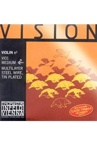 Thomastik Vision Vı01 Keman Teli