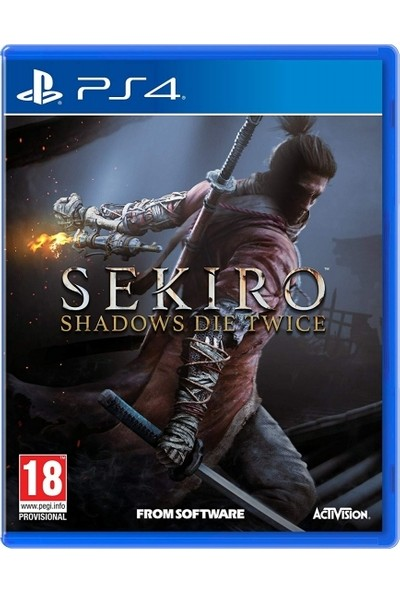 Sekiro Shadows Die Twice PS4 Oyun