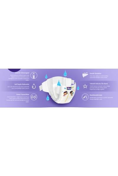 Sleepy Sensitive Bebek Bezi 2 Beden Mini 40X4 (160 Adet)