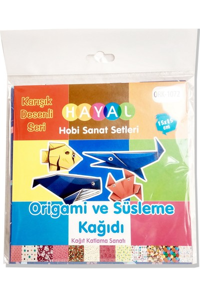 Hayal Hobi Origami Kağıdı Karışık Desenli 1