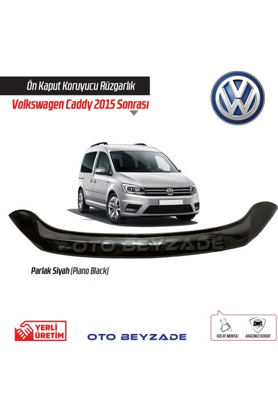 İtibar Volkswagen Caddy Facelıft 2010-2014 Kaput Koruyucu Rüzgarlık