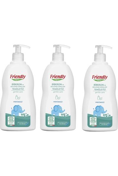 Friendly Organic Beslenme Gereçleri Temizleyici- Parfümsüz - 500 ml 3' lü