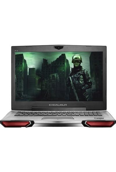 "Casper Excalibur G860.8750-D690X Intel Core i7 8750H 32GB 1TB + 480GB SSD GTX1060 Freedos 17.3"" FHD Taşınabilir Bilgisayar"