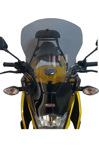 Gp Kompozi̇t Honda CB 125 Uyumlu Ön Cam 2018 Füme - 48 cm