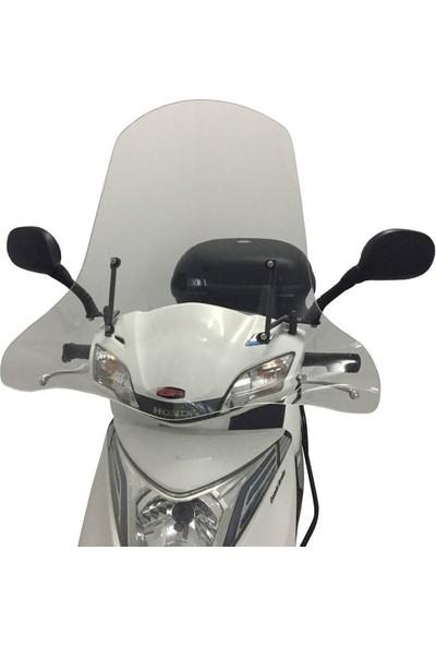 Gp Kompozi̇t Honda Activa Uyumlu Ön Cam 2015-2018 Şeffaf