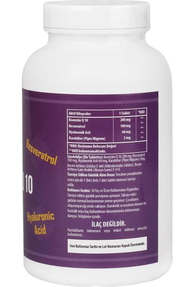 Ncs Coenzyme Q-10 200 Mg Resveratrol Hyaluronic Acid Black Pepper Koenzim 90 TABLE