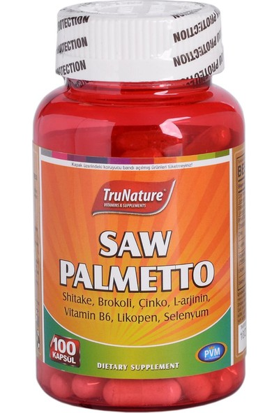 TruNature Saw Palmetto Complex 450 mg 100 Kapsül