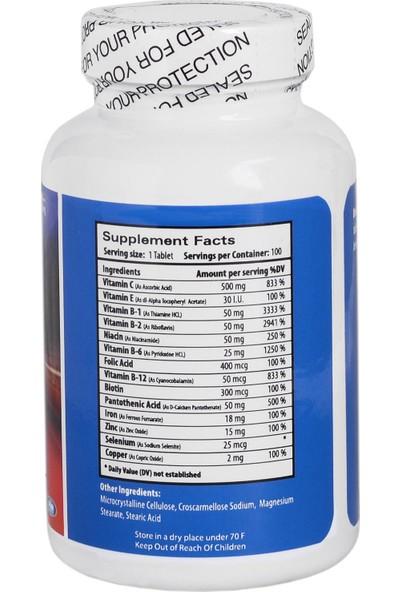 TruNature Vitamin B Complex 100 Tablet