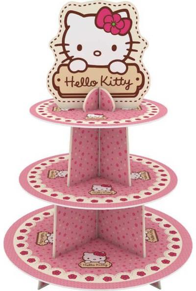 Nurlar lisanslı Cupcake Standı 3 Katı