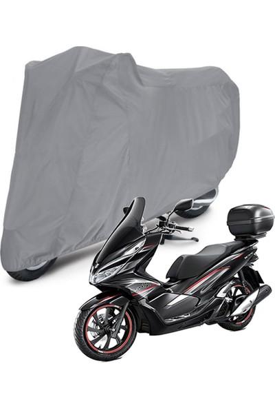 Autoen Vespa ET 4 Arka Çanta Uyumlu Motosiklet Brandası