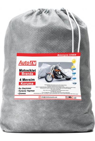 Autoen LML Star 2 Arka Çanta Uyumlu Motosiklet Brandası