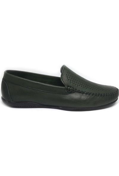 Shop And Shoes 093-436 Erkek Ayakkabı Yeşil