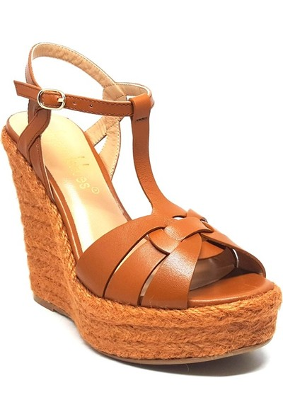 Shop And Shoes 104-80902 Kadın Ayakkabı Taba
