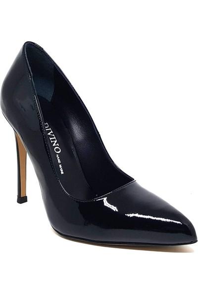 Shop And Shoes 104-3303-08 Kadın Ayakkabı Siyah Rugan