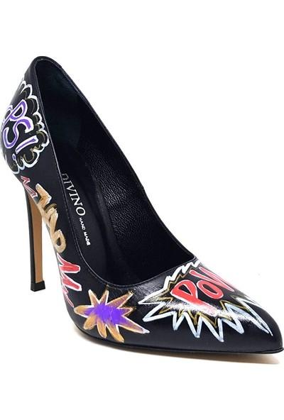 Shop And Shoes 104-3303-A43 Kadın Ayakkabı Siyah